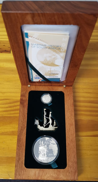 2009 MARITIME HISTORY  COMBO PROOF SILVER SET