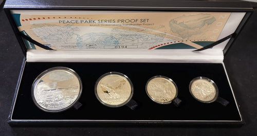 2009  PR0OF SILVER SET IN VELVET CASE -  MALOTI DRAKENSBERG