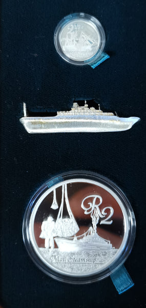 2010 MARITIME HISTORY  COMBO PROOF SILVER SET
