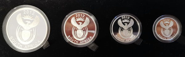 2012 PEACE PARK SERIES SILVER PROOF SET