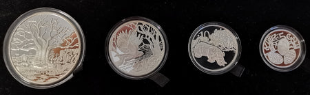 SA 1986 YEAR OF DISABLED SILVER PROOF ONE RAND