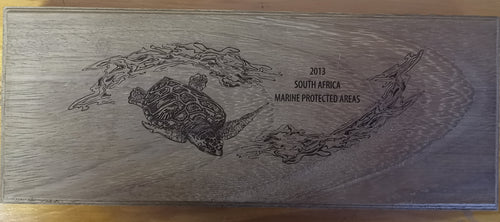 2013 MARINE PROTECTED AREAS SILVER SET