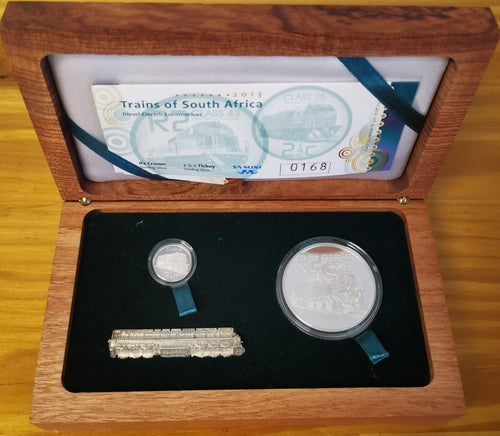 2013 TRAINS COMBO PROOF SILVER SET