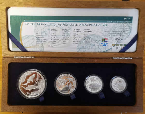 2014 MARINE PROTECTED AREAS SILVER SET