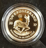 2017 50th ANNIVERSARY OF THE KRUGERRAND - 1/4 OUNCE PROOF COIN