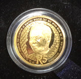 2019  PROTEA ONE TENTH OUNCE GOLD - MANDELA