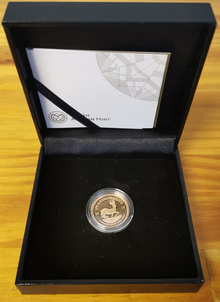 RSA 2019 PROOF ONE QUARTER OUNCE KRUGERRAND ONLY 2000 MINTED