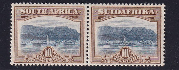 SA 1927 10/-  LONDON PRINTING SUPERB UM- SACC 39 - CV R10000