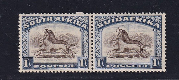1932 1/- ROTO UPRIGHT WATERMARK UM - SACC 49- CV R3500
