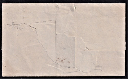 "CAPE OF GOOD HOPE CIRCA 1850  ""BATHURST"" OCTAGONAL ""51"""