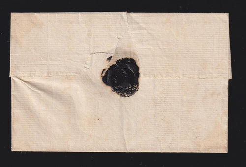 "CAPE OF GOOD HOPE 1806 ""FIRST LETTER STAMP"" USED BY THE BRITISH"