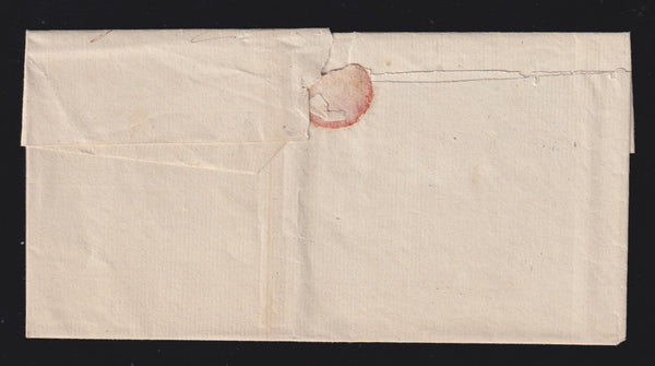 "CAPE OF GOOD HOPE 1830  SECOND ""OFFICIAL FREE"" UITENHAGEN-GRAHAMSTOWN COVER"