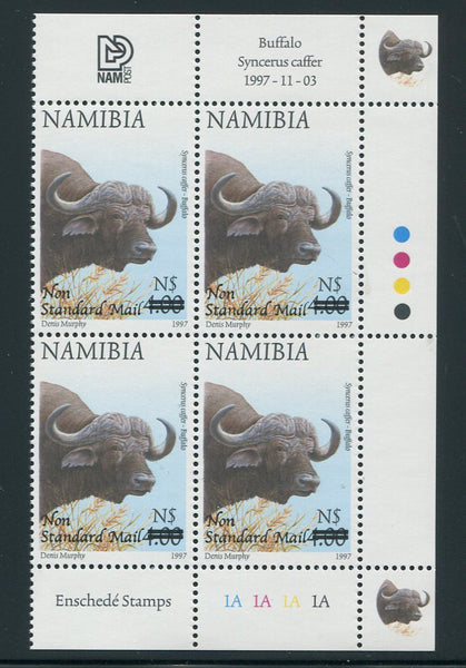 NAMIBIA 2005 NON STANDARD MAIL  SURCHARGE CONTROL BLOCK - SACC 484
