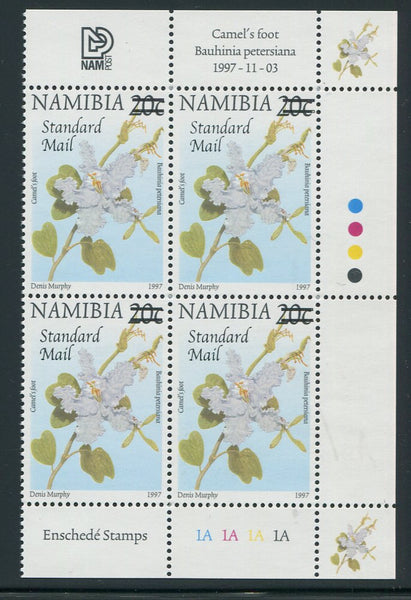 NAMIBIA 2005 STANDARD MAIL  SURCHARGE CONTROL BLOCK - SACC 487
