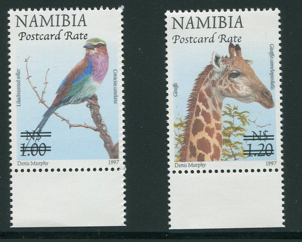 NAMIBIA 2006  POSTCARD RATE  - SACC 531-2