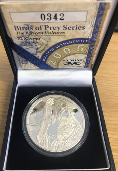 2005 R2 SILVER  Birds of Prey Series