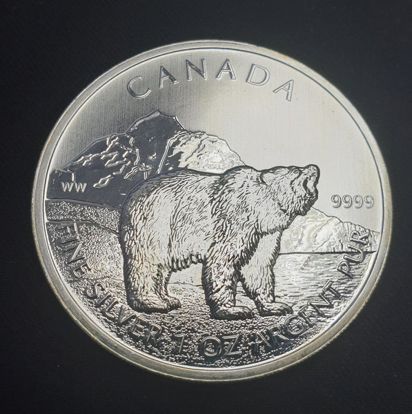 CANADA 2011 SILVER DOLLAR- UNCIRCULATED ONE OUNCE