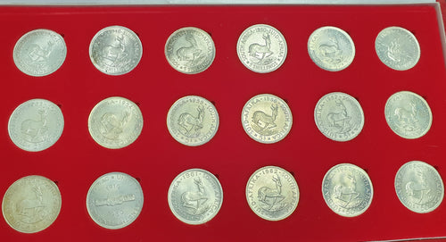 SA COMPLETE SET OF SILVER CROWNS