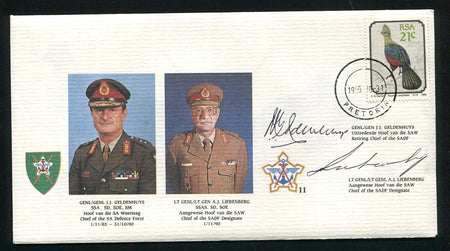 SA Defence Force 8a - signed
