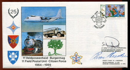 SA Defence Force 3A - Signed