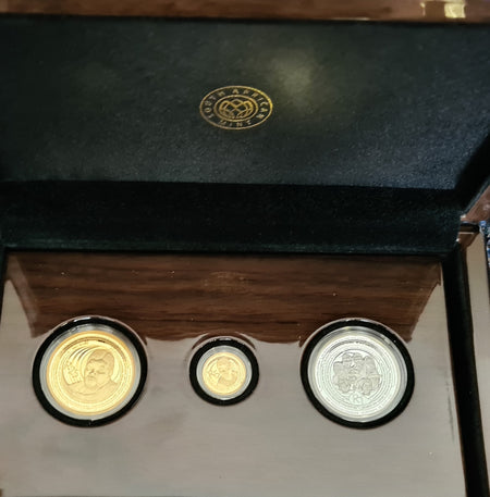 1992 PROTEA ONE TENTH OUNCE GOLD- COINAGE