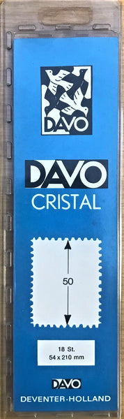 Davo Cristal Stamp Mounts