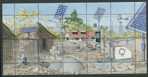 Renewal energy Resources in Namibia - Miniature Sheet 2001