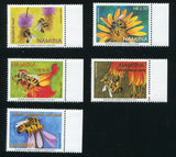 2004 2 February. Honeybees in Namibia - Set of 5
