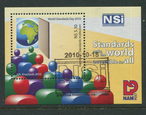 2010 18 October. NSI World Standards Day - Miniature Sheet