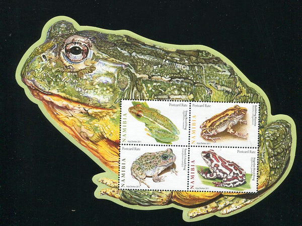 2011 May. 23 March. Frogs - Miniature Sheet