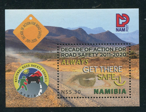 2011 11 May. Road Safety - Miniature Sheet
