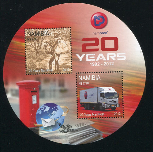 2012 31 July 20 Years Nampost & Telecom Namibia