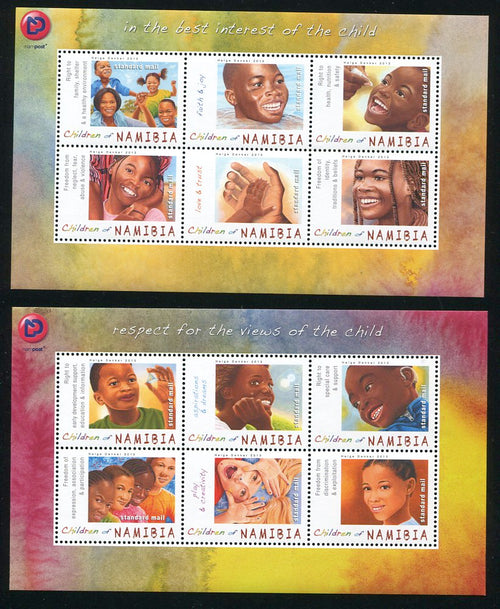 2013 16 June. Children of Namibia - Miniature Sheet