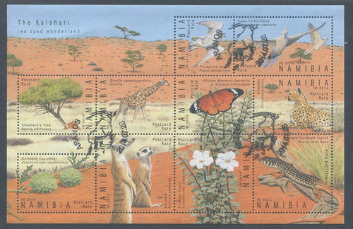 2014 28 July. The Kalahari - Miniature Sheet