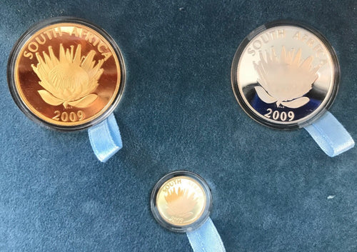 2009 NATIONAL ANTHEM PROTEA PROOF SET