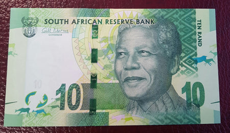 FIVE RAND 1989 3rd ISSUE  - GPC de KOCK