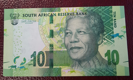 2018 MANDELA CENTENARY SET OF 5 BANKNOTES - UNCIRCULATED