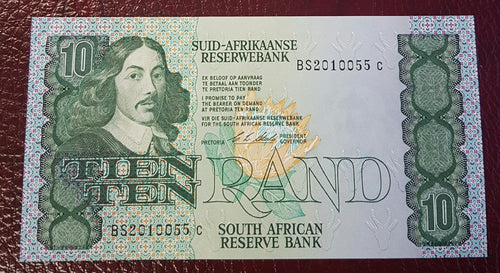TEN RAND 1990 1st ISSUE  - CL STALS
