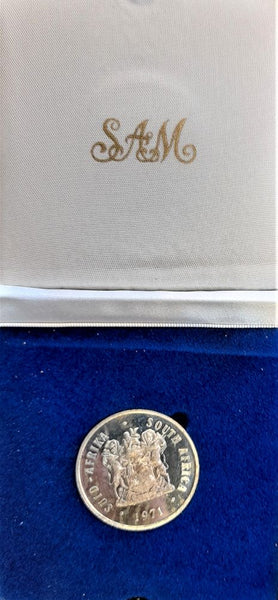 1971  PROOF SILVER ONE RAND