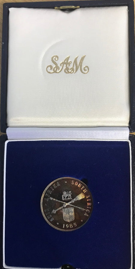 1998  Silver Proof 2 1/2 c Tickey Jackass Penguin