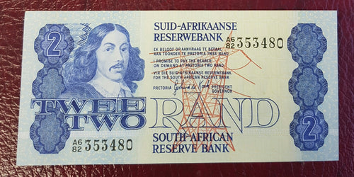 TWO RAND 1981 2nd ISSUE  - GPC de KOCK