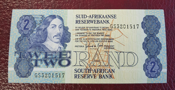 TWO RAND 1989  3rd ISSUE  - GPC de KOCK