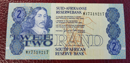 TWO RAND 1990  3rd ISSUE  REPLACEMENT- GPC de KOCK