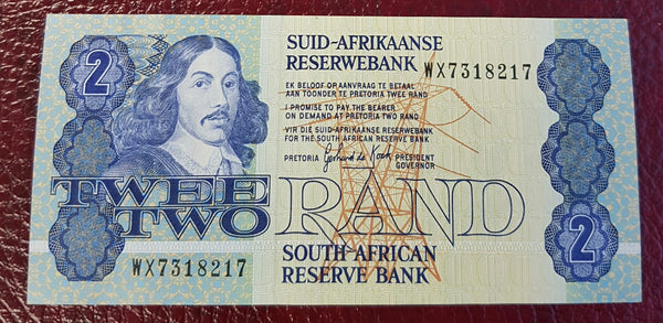 TWO RAND 1989 3rd ISSUE REPLACEMENT - GPC de KOCK