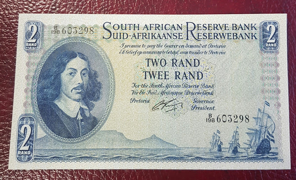 TWO RAND 1962  1st  ISSUE - G RISSIK