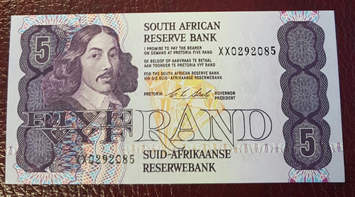 FIVE RAND 1990 1st ISSUE  - CL STALS -REPLACEMENT