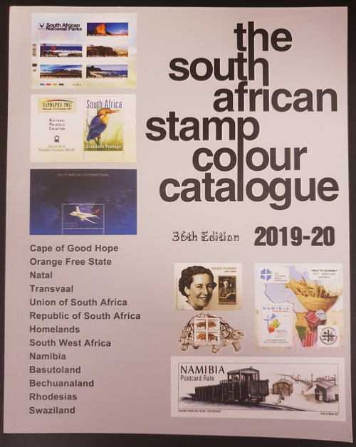 South African Stamp Colour Catalogue 2019-20