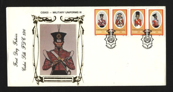 Ciskei Silk 86.3 Military Uniforms 3
