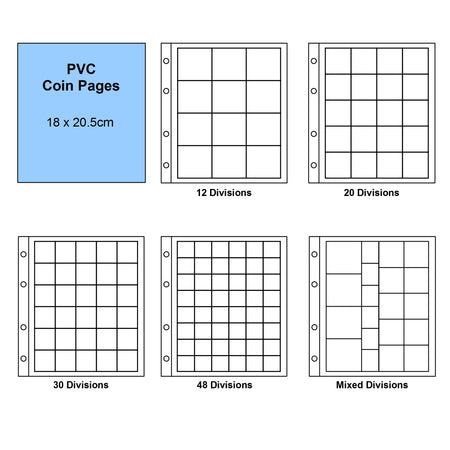 Stock Book – 64 white pages standard  1163