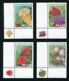 2001  18 April Sea Anemones - Set of 4